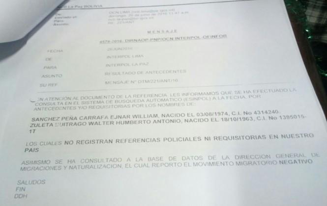 Denuncian que Fiscalía mintió al decir que Interpol activo sello azul para captura de exabogados de Zapata