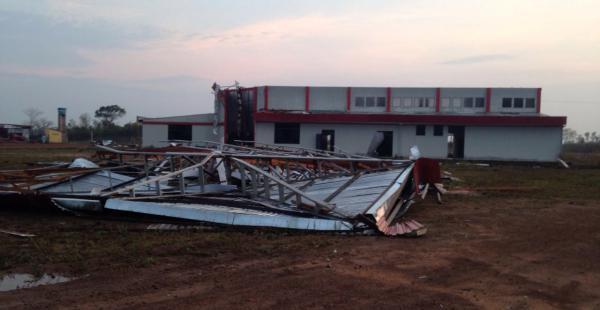 El aeropuerto de Riberalta colapsó en agosto pasado
