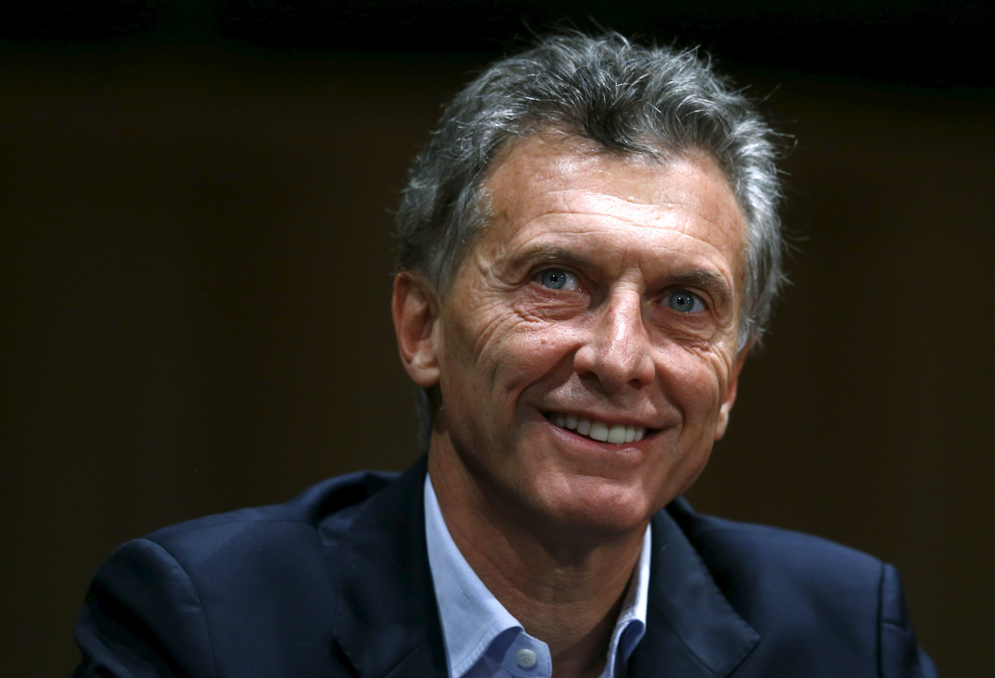 El presidente electo de Argentina, Mauricio Macri, durante una conferencia de prensa en Buenos Aires