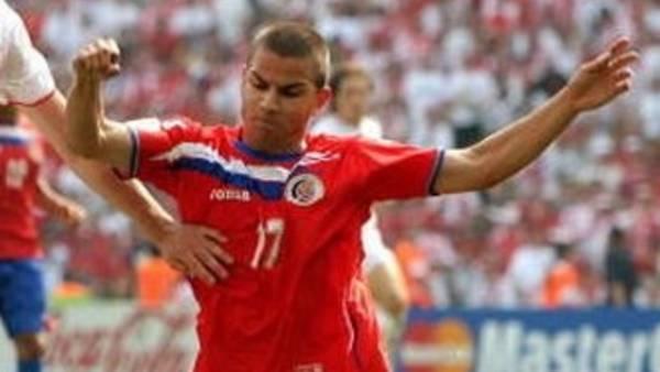 Gabriel Badilla en el Mundial.