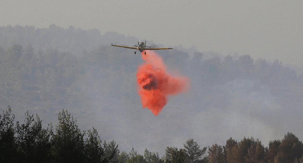 Resultado de imagen para Francia envía aviones para combatir incendios en Israel