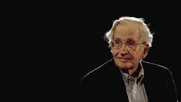 El intelectual estadounidense, Noam Chomsky