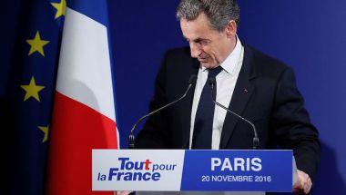 Nicolas Sarkozy se quedó fuera de la carrera presidencial (IAN LANGSDON/AFP/Getty Images)