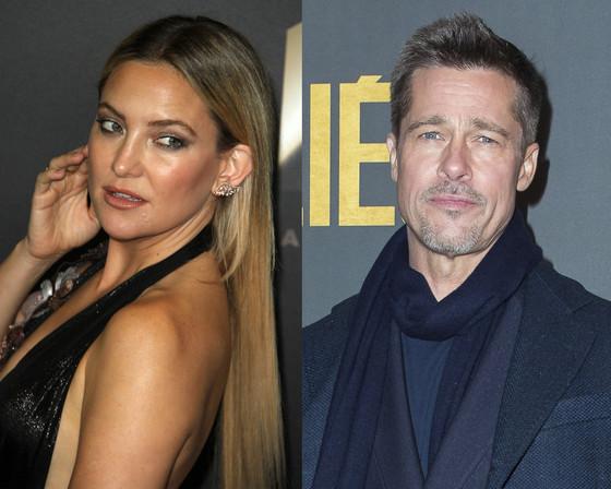 Brad Pitt, Kate Hudson