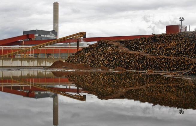 El declive de la industria papelera ha significado un fuerte revés para los trabajadores finlandeses. (Reuters)