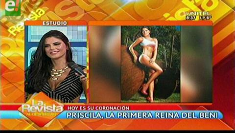 "Priscila Leigue, ""Reina del Beni 2016"""