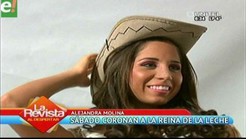 Alejandra Molina será coronada como Reina de la Leche