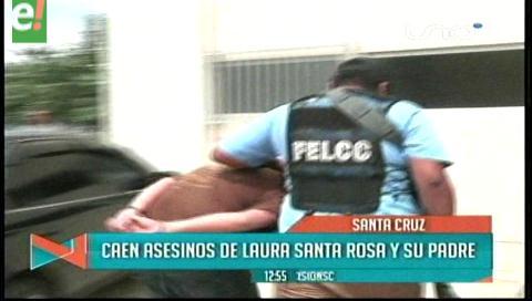 Caen presuntos asesinos de Laura Santa Rosa y su padre