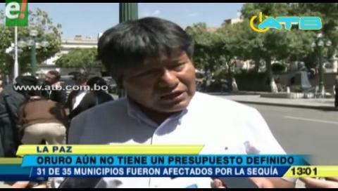Oruro toma medidas para combatir el cambio climático