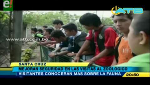 Mejoran la seguridad para las visitas al zoológico municipal