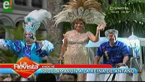 Proclamaron a la Reina de Antaño 2017