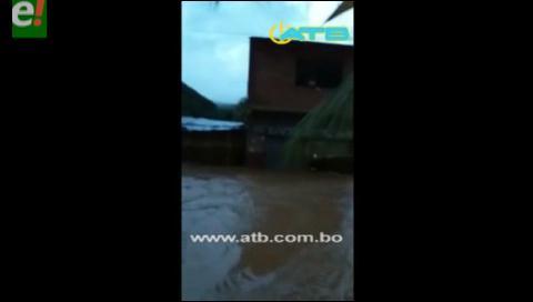 Un muerto y más de 200 familias damnificadas deja riada en Tipuani