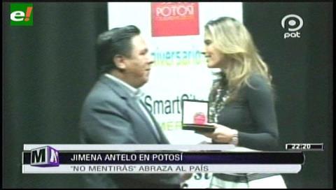 Y la embajadora de Potosí es… Jimena Antelo