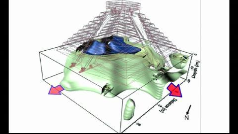 Hallaron una misteriosa pirámide maya oculta en Chichén Itzá