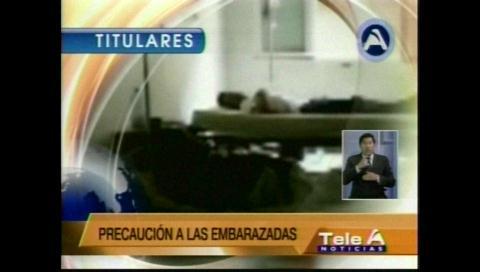Titulares de TV: SEDES confirma el sexto caso de microcefalia atribuido al zika en el país
