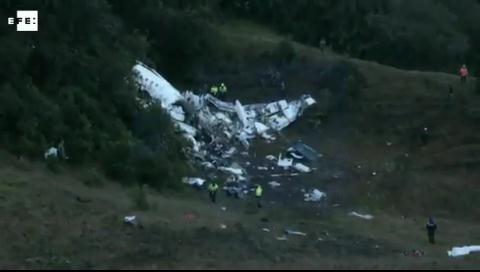 71 muertos y 6 sobrevivientes tras la caída de avión del Chapecoense