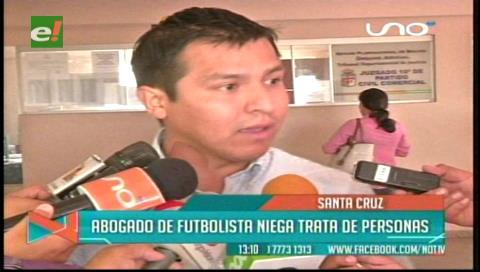 Futbolista de Sport Boys se presenta y desvirtúa trata de menor en Santa Cruz