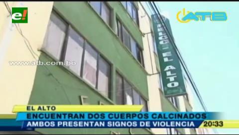 Hallan cadáveres de una pareja en El Alto