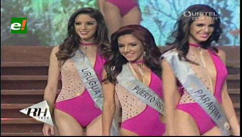 Reina Hispanoamericana 2016: Candidatas en traje de baño