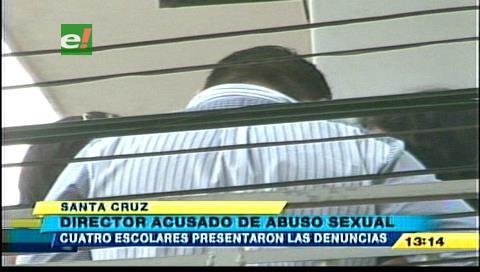 Director de un colegio es acusado de abuso sexual