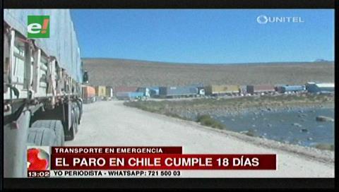 Transporte internacional realizará un ampliado nacional por paro en Chile