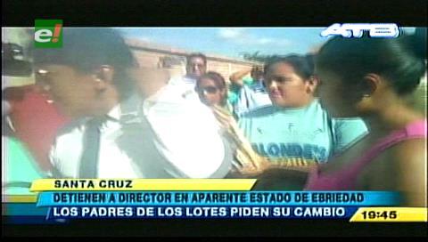 Colegio Hernando Siles: Acusan al director de llegar ebrio al trabajo