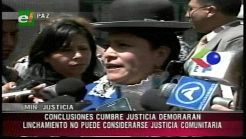 Gobierno afirma que el linchamiento es un delito y culpa a jueces por errores procedimentales