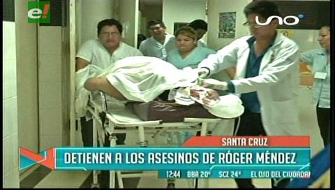 Santa Cruz: Detienen los supuestos asesinos de Róger Méndez