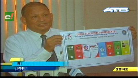 Uagrm: CEP presenta la papeleta oficial para la elección de la FUL