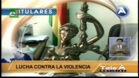 Titulares de TV: Fiscalía registró 94 feminicidios entre enero y octubre de este año en Bolivia