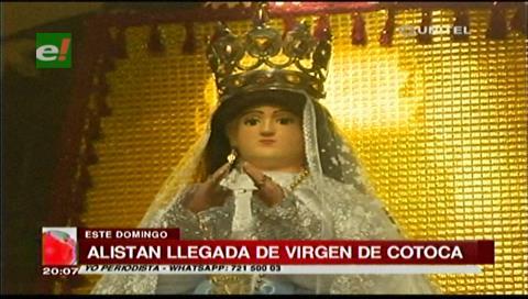 La Virgen de Cotoca llega este domingo a Santa Cruz en romería