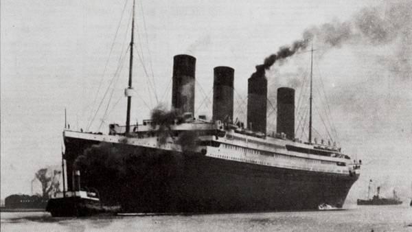 El Titanic en una imagen publicada en la portada del New York Times el 16 de abril de 1912. Archivo Clarín.