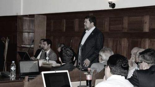 El jefe de UN Samuel Doria Medina interviene en audiencia cautelar
