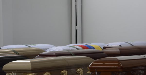 Los cuerpos llegarán este jueves a sus países de origen