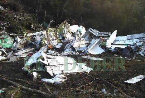 Así luce el lugar de la tragedia de Chapecoense 7 días después