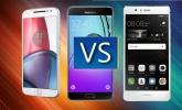 ¿Cuál es el mejor gama media premium? Moto G4 Plus vs Huawei P9 Lite vs Samsung Galaxy A5 (2016)