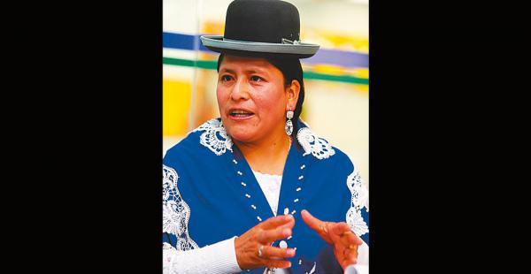 La ministra de Justicia, Virginia Velasco, dijo que iniciará un proceso