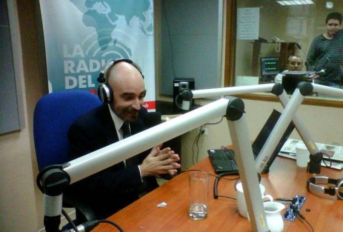 Andres Sal Lari, el periodista que elaboró un documental por encargo del Gobierno. Foto: Facebook