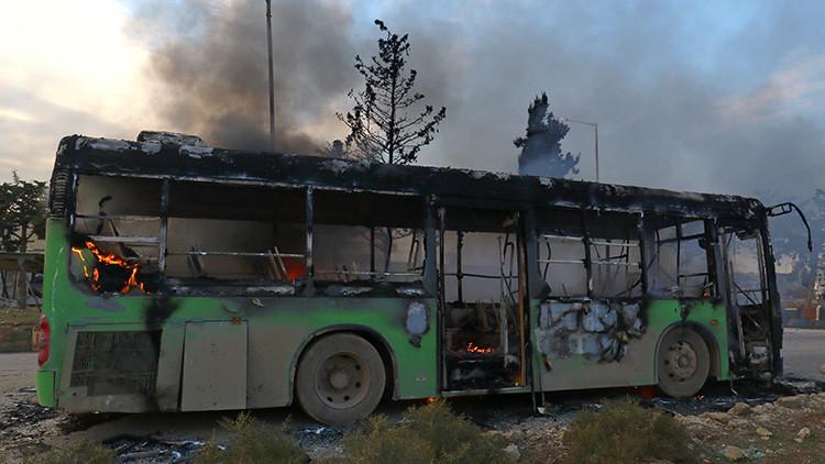 Cruz Roja reinicia evacuación de heridos de Alepo
