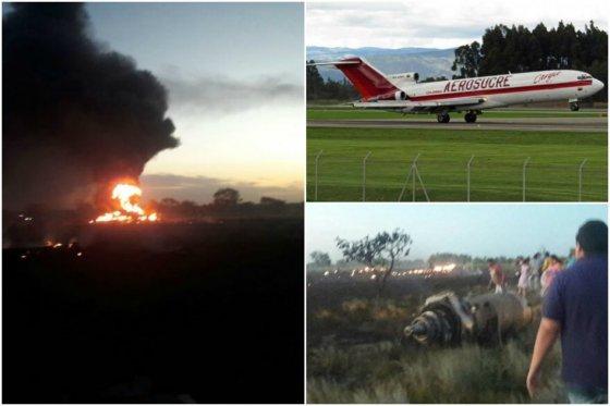 Cinco muertos deja accidente de avión de Aerosucre tras despegar de Puerto Carreño