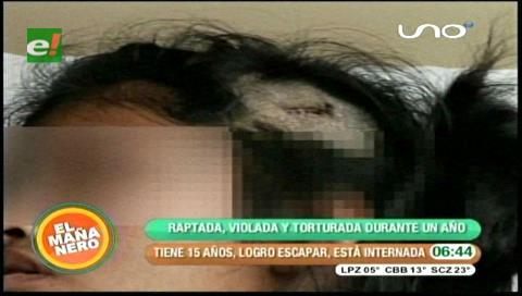 Adolescente huye de un hombre que la abusaba y torturaba en Mizque