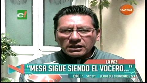 Vicecanciller afirma que Mesa sigue siendo vocero de la demanda marítima