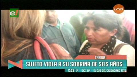 Tarija: Sujeto abusó de su sobrina de seis años