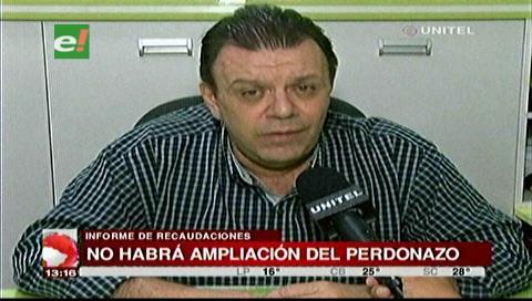 """Santa Cruz: No habrá más ampliación del """"perdonazo"""""""