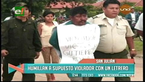 Capturan a padrastro violador en San Julián