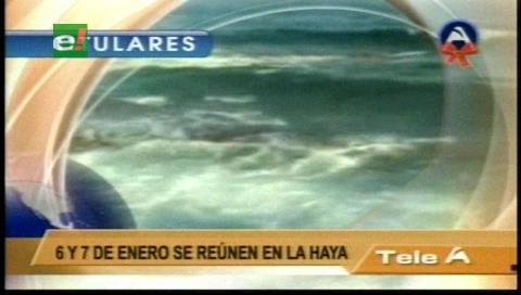Titulares de TV: Bolivia concluyó la réplica a los argumentos de Chile sobre la demanda marítima