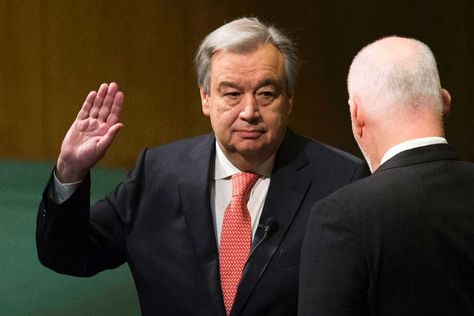 Antonio Guterres, nuevo secretario general de la ONU.