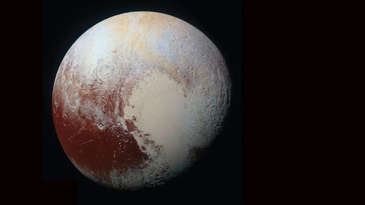 FOTO: Hallan en Plutón formaciones de hielo vistas solo en la Tierra