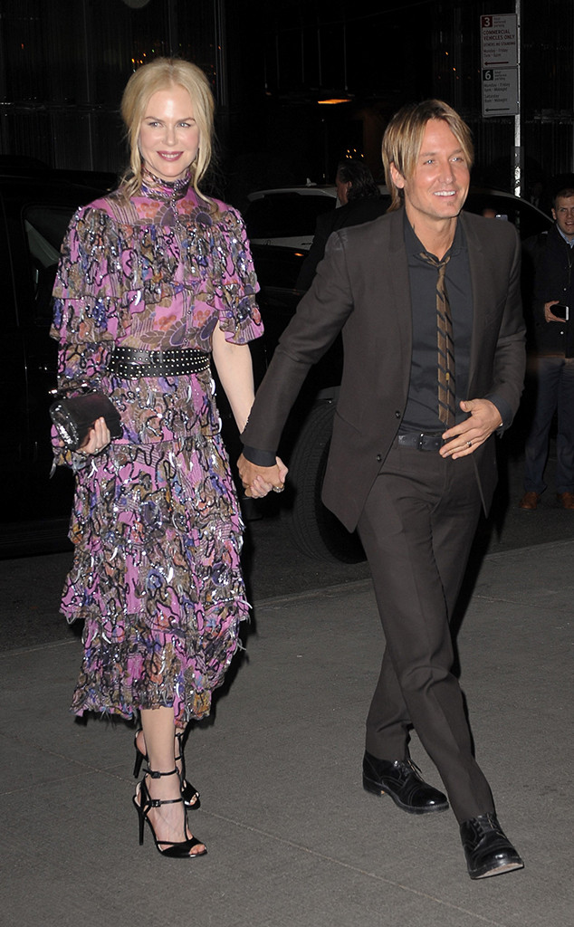 Nicole Kidman, Keith Urban, New York