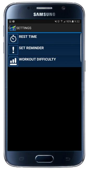 Opciones de 10 Daily Exercices